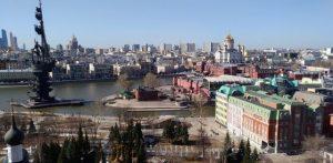 موقع مدينة موسكو
