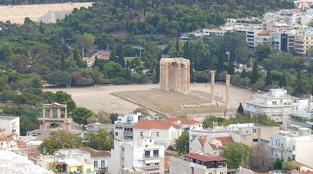 اين تقع اثينا
