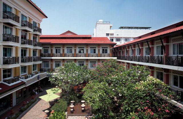 موقع مدينة بانكوك