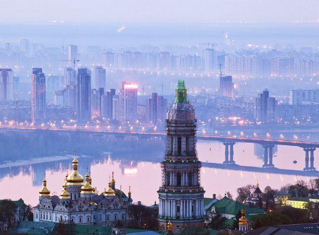 اين تقع كييف