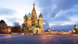 اين تقع روسيا