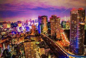 موقع مدينة طوكيو