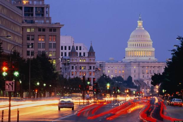 اين تقع واشنطن