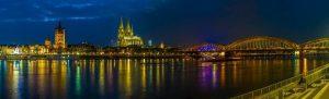 نهر الراين دوسلدورف