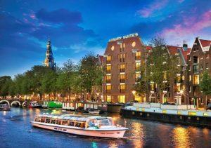 اين تقع امستردام