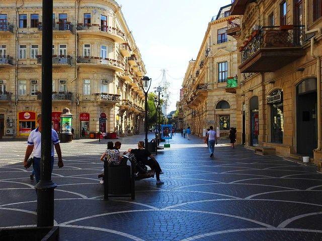الأماكن السياحية في باكو اذربيجان