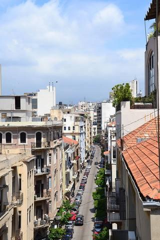 شوارع بيروت الحيوية