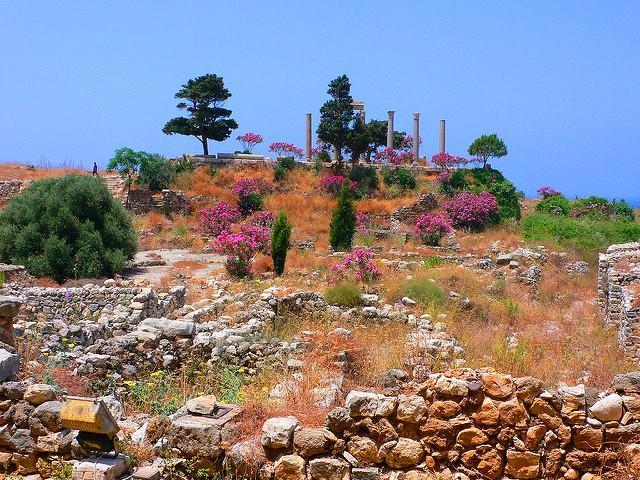 قلعة الجبيل بلبنان