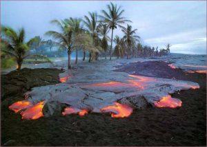 حدائق براكين هاواي