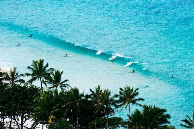 شواطئ هاواي امريكا