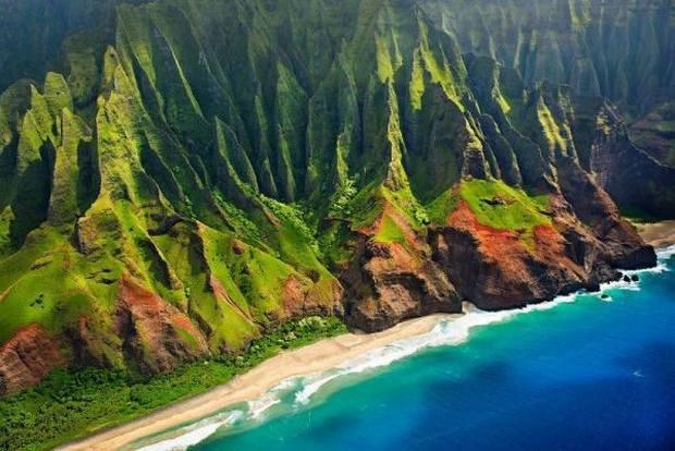 شواطئ هاواي أمريكا