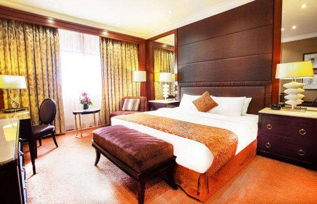 غرف فندق المريديان عمان