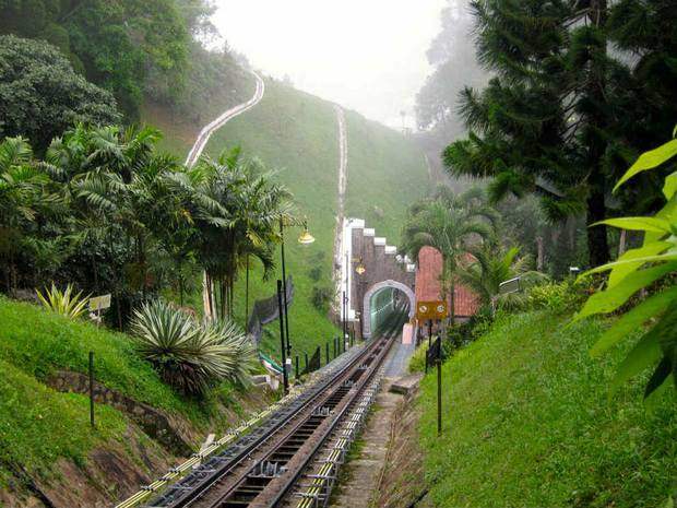 القطار الجبلي في بينانج