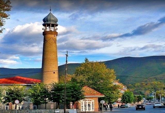 مدينة شيكي في اذربيجان