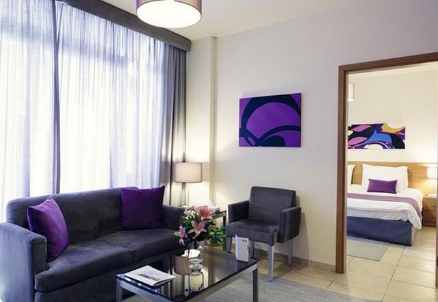 ديكورات رائعة بألوان جذابة في افضل شقق فندقية في بيروت