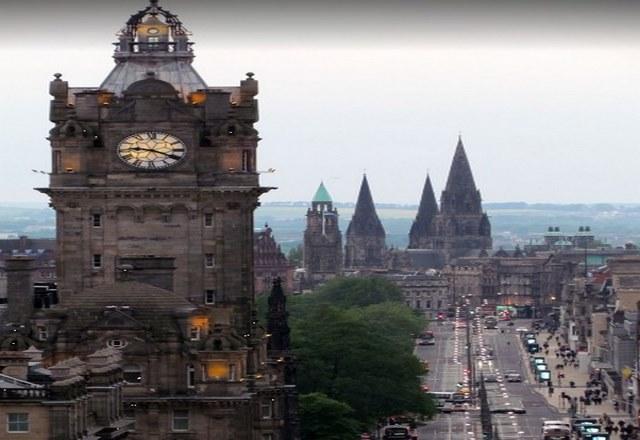 السياحة مدينة ادنبرة