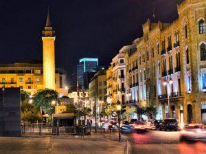 اين تقع بيروت