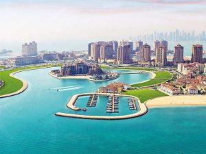 اين تقع قطر