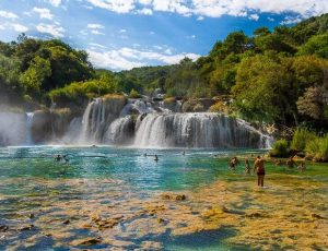 شلالات في كرواتيا