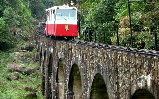 بينانج قطار الجبل