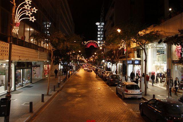 شوارع بيروت في لبنان