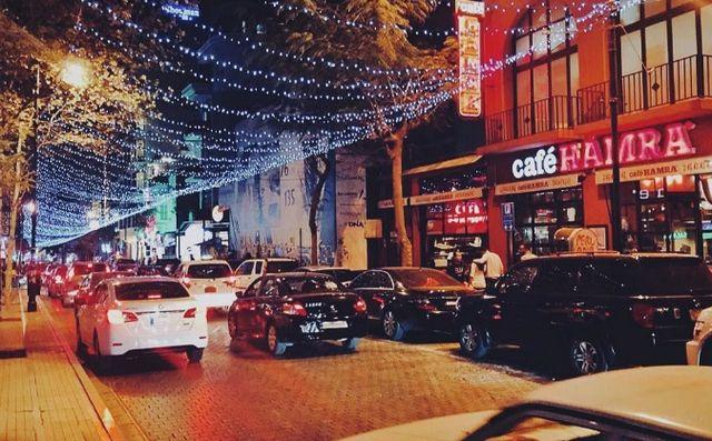 شوارع في لبنان