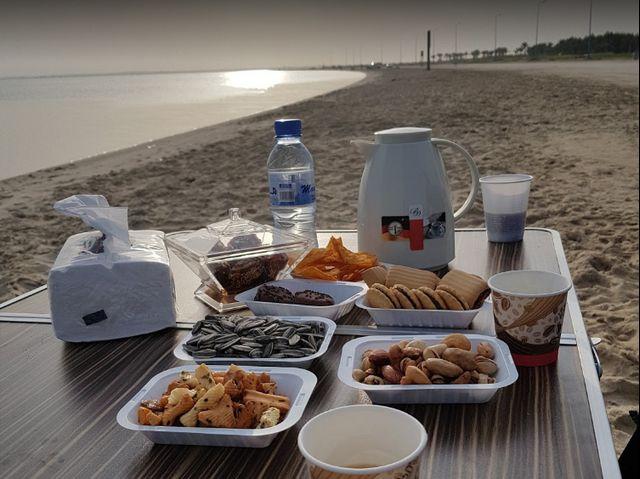 موقع شاطئ العقير بالاحساء