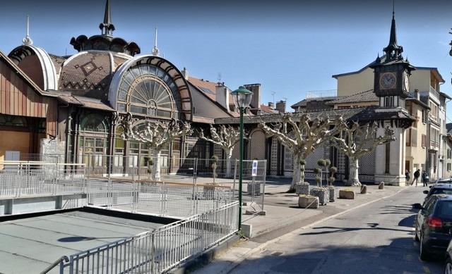 مدينة ايفيان الفرنسية