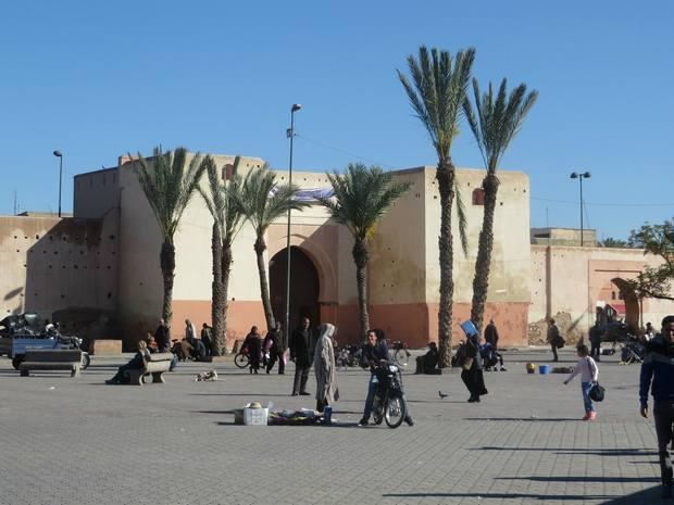 أبواب مراكش القديمة