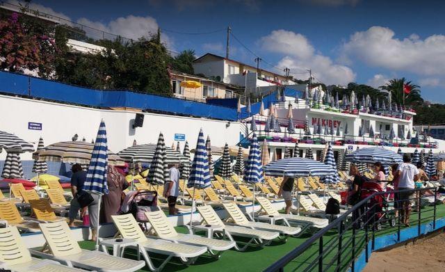 شاطئ ناكي بيه جزيرة بيوك اضا اسطنبول
