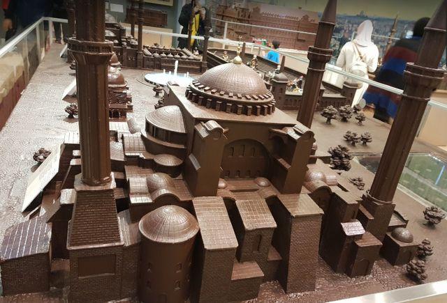متحف الشوكولاته في اسطنبول تركيا