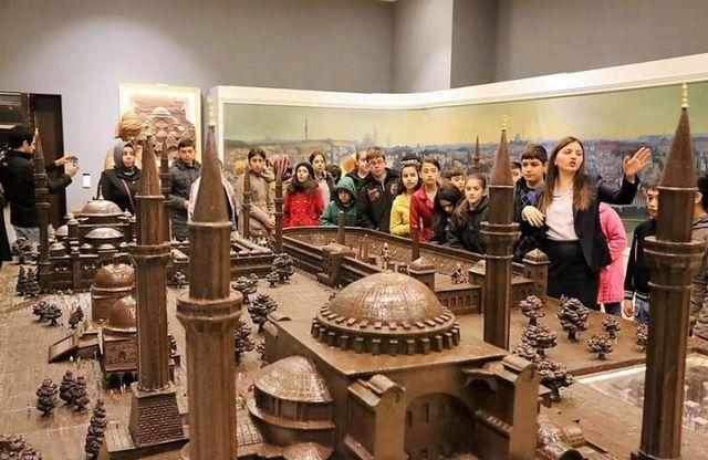 مصنع الشوكولاته في اسطنبول