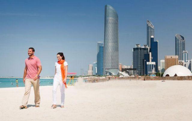 شاطئ السعديات ابوظبي
