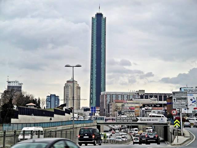 ناطحة السحاب برج السفير اسطنبول