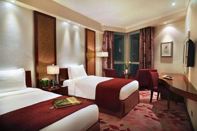 يضم فندق ريحانة مكه غرف واسعة