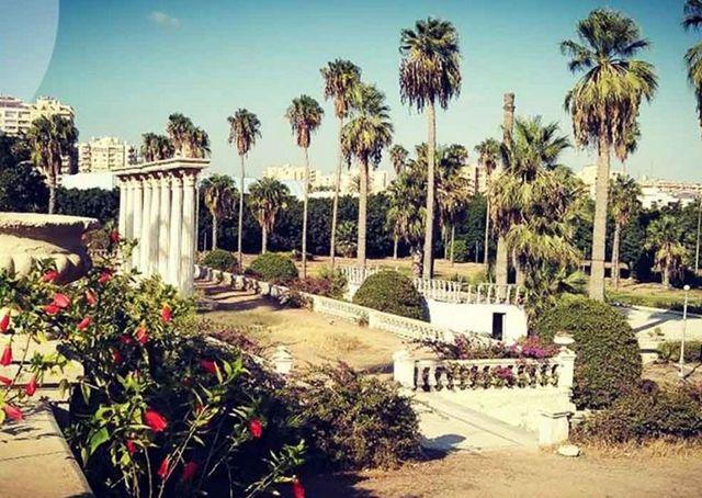 حديقة انطونيادس بالاسكندرية
