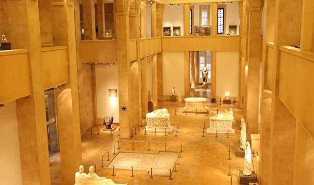 المتحف الوطني بيروت لبنان