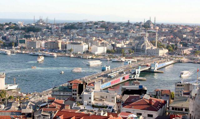 جسر غلطة السطنبول