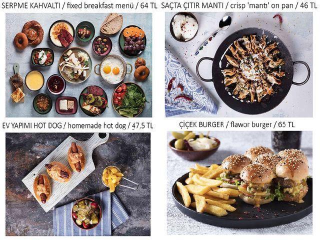 منيو مطعم هوكا اسطنبول