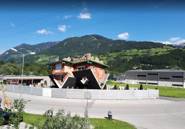 البيت المقلوب في النمسا