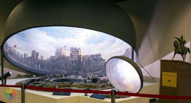 متحف بانوراما 1453 في اسطنبول
