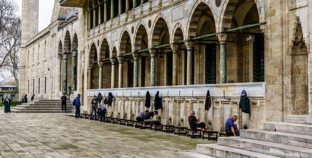 مسجد سليمان القانوني اسطنبول