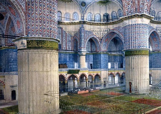 جامع سلطان احمد في اسطنبول