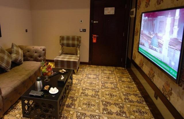 تتضمن غُرف فندق الفيروز الماسي المرافق المُميّزة.
