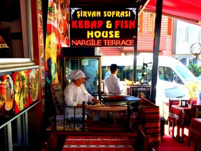 مطعم شيرفان سوفرسي من مطاعم اسطنبول