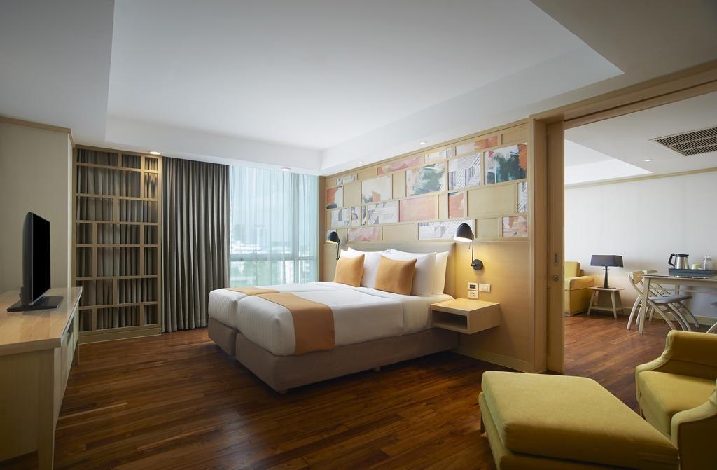 شقق اماري بانكوك من افضل فنادق بانكوك للعائلات حيث تُقدّم غُرف وأجنحة تسع حتى 6 أفراد.