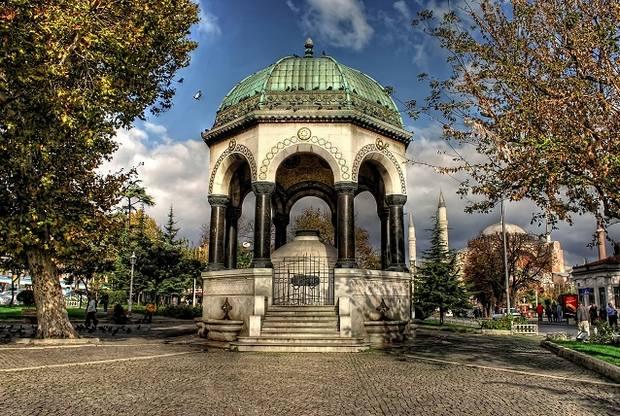 النافورة الالمانية في اسطنبول
