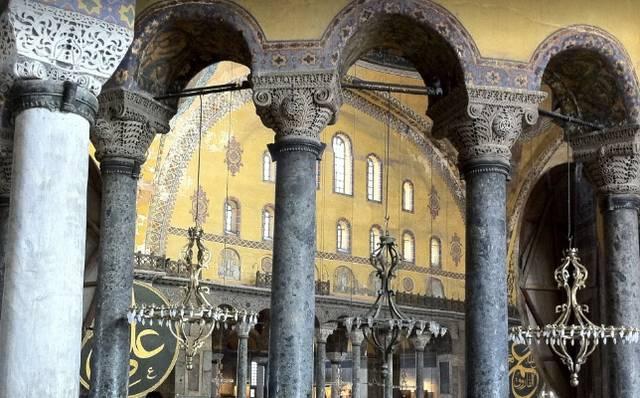 جامع ايا صوفيا اسطنبول