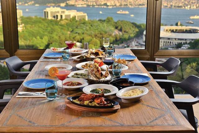 افضل مطاعم اسطنبول على البسفور