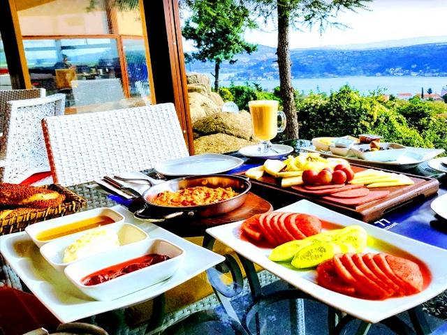 مطاعم على البسفور اسطنبول